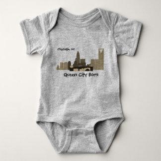 Het T-shirt van het Baby van Charlotte NC