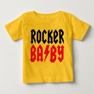 Het T-shirt van het Baby van de tuimelschakelaar