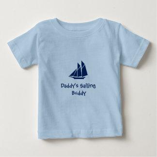 """Het T-shirt van het Baby van de Varende """"Vriend"""
