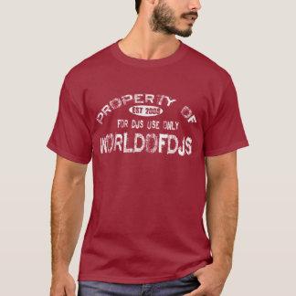 Het T-shirt van het bezit