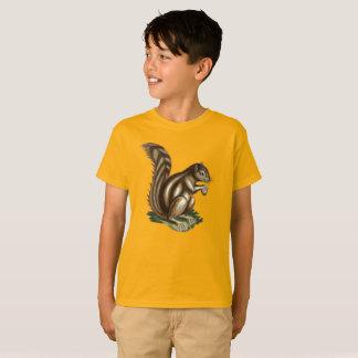 Het T-shirt van het Kind van de Eekhoorn van de