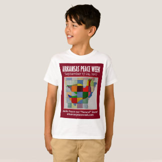 Het T-shirt van het Kind van de Week van de vrede