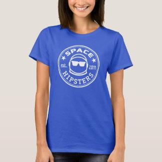 Het T-shirt van het Logo van ruimteVrouwen