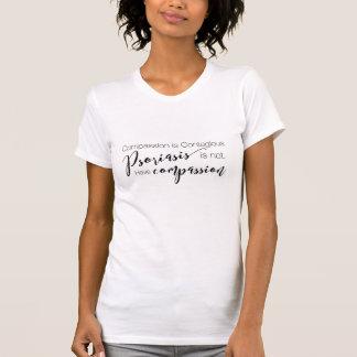 Het T-shirt van het Medeleven van de psoriasis