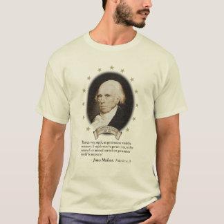 Het T-shirt van James Madison