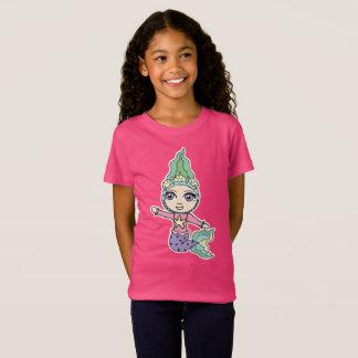 Het T-shirt van Jersey van het meisje