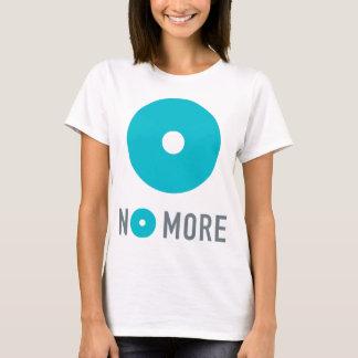 Het T-shirt van NIET MEER Vrouwen met Tagline op