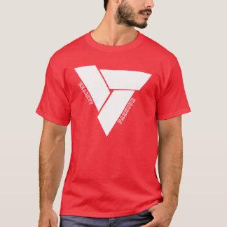 Het T-shirt van Parkour van de werkelijkheid - Wit