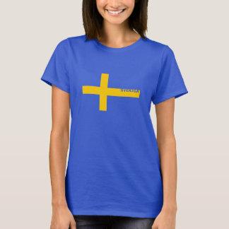 Het T-shirt van Sverige van vrouwen