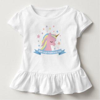 """Het t-shirtoverhemd van de eenhoorn - """"maak kinder shirts"""