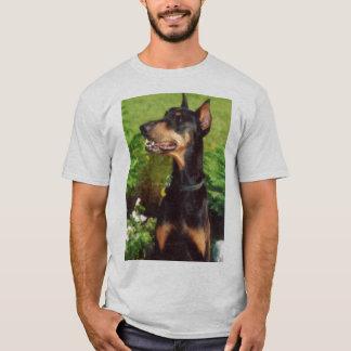 Het t-shirtoverhemd van Doberman T Shirt