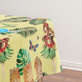 Het Tafelkleed van de Partij van Tiki