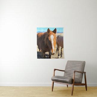 Het Tapijtwerk van het paard Wandkleed