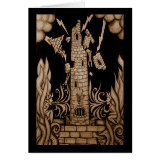 Het tarot van de Toren Briefkaarten 0