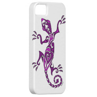 Het tattoo/de henna van de hagedis in paars barely there iPhone 5 hoesje