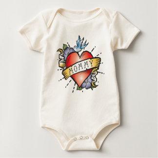Het Tattoo van de mama Baby Shirt