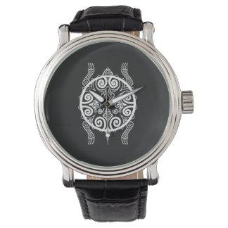 Het Tattoo van de Schildpad van de Strijder van Horloges