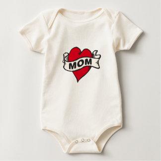 Het Tattoo van het mamma Baby Shirt