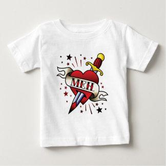 Het Tattoo van Meh Baby T Shirts