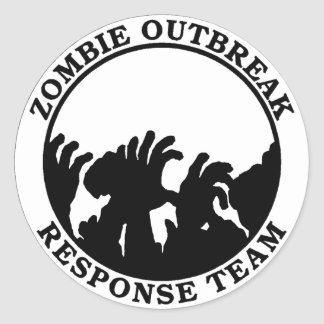 Het Team van de Reactie van de Uitbarsting van de Ronde Sticker