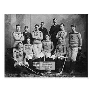 Het Team van het Hockey van de klaver, Montreal, Briefkaart
