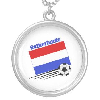 Het Team van het Voetbal van Nederland Ketting Rond Hangertje