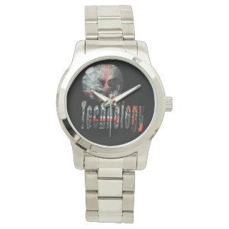 Het technologie op Gelete Logo van de Schedel, Horloges