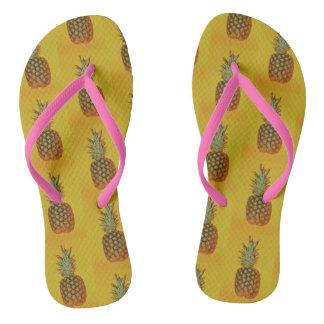 Het TEENSLIPPER van de Ananas van vrouwen Teenslippers