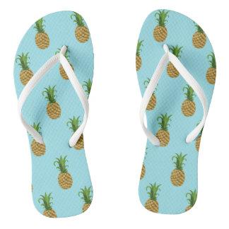 Het Teenslipper van de Druk van de ananas Teenslippers