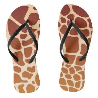 Het Teenslipper van giraffen Teenslippers