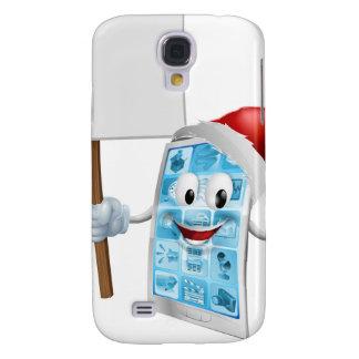 Het teken mobiele telefoon van Kerstmis