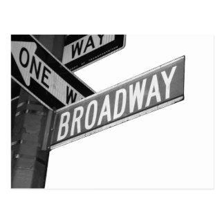 Het Teken van Broadway Briefkaart