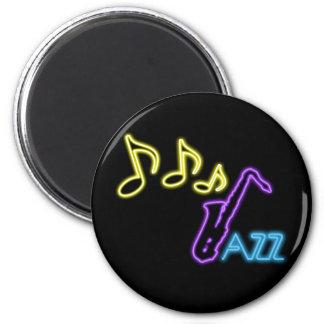 Het Teken van de Bar van de Jazz van het neon Magneet
