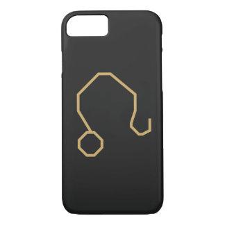 Het Teken van de Dierenriem van de Leeuw Basis iPhone 8/7 Hoesje