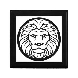 Het Teken van de Dierenriem van de Leeuw van de Decoratiedoosje