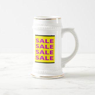 Het Teken van de verkoop Bierpul