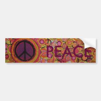 Het Teken van de vrede Bumpersticker