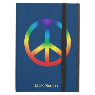 Het Teken van de vrede in de kleuren van de iPad Air Hoesje