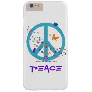 Het Teken van de vrede met de Kleuren van de Barely There iPhone 6 Plus Hoesje