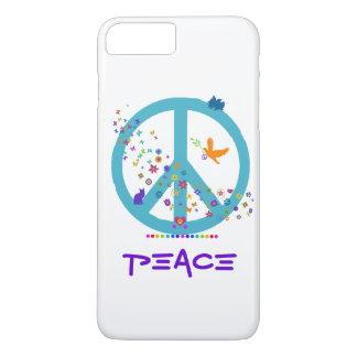 Het Teken van de vrede met de Kleuren van de iPhone 7 Plus Hoesje