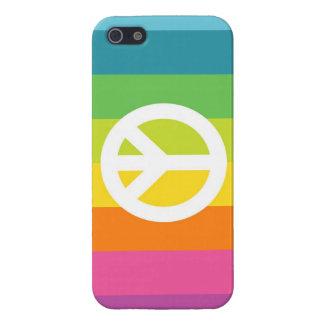 Het Teken van de Vrede van de regenboog iPhone 5 Hoesje
