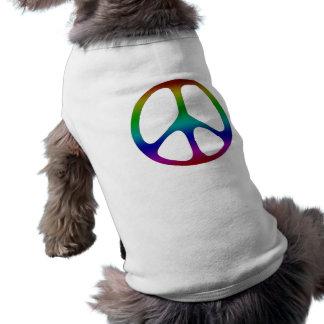 Het Teken van de Vrede van de regenboog Shirt