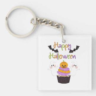 Het Teken van Halloween Cupcake Sleutelhanger