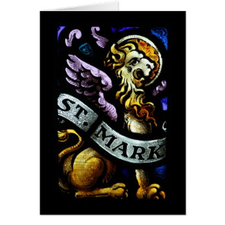 Het Teken van heilige het Art. van het Briefkaarten 0