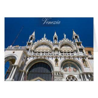 Het Teken van heilige in Venetië Kaart
