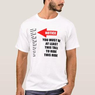 Het Teken van het bericht T Shirt