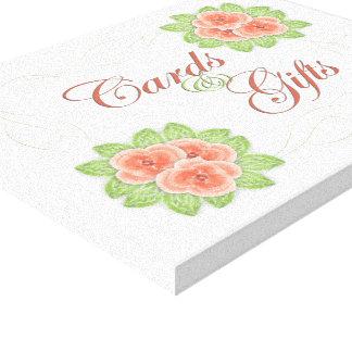 Het Teken van het Huwelijk van kaarten & van Canvas Prints