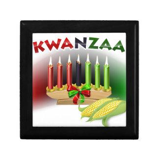 Het Teken van Kwanzaa Decoratiedoosje