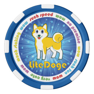 Het Teken van LiteDoge Pokerchips