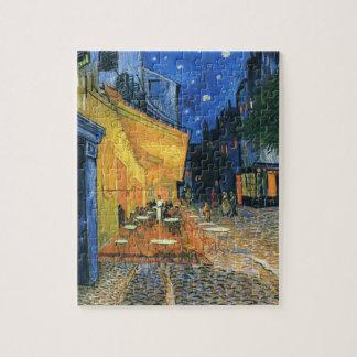Het Terras van de koffie in Night Van Gogh Puzzle Puzzel